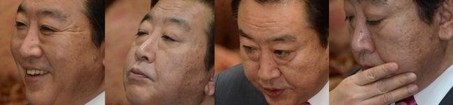 論議に臨む野田首相